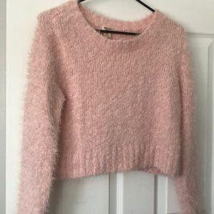 Mission fuzzy sweater